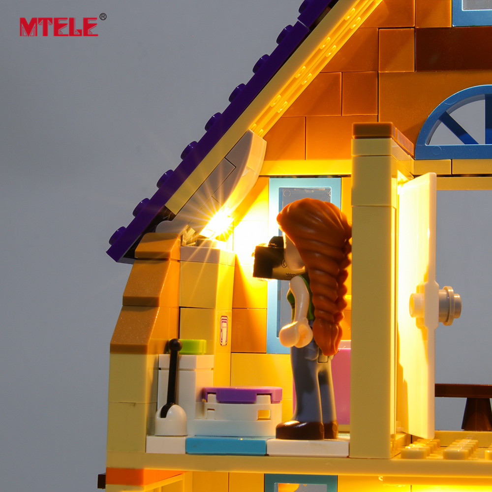 LED Light Up Kit For LEGO 41369 Friends Series Mia/'s House Lighting Friends Mia