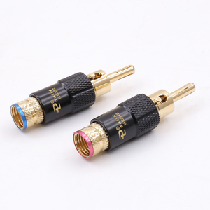Image 4 - 8 pcs 24K gold Plated Banana Speaker Plug, Screw Lock 10mm plug,Cable Wire ConnectorSpecifications