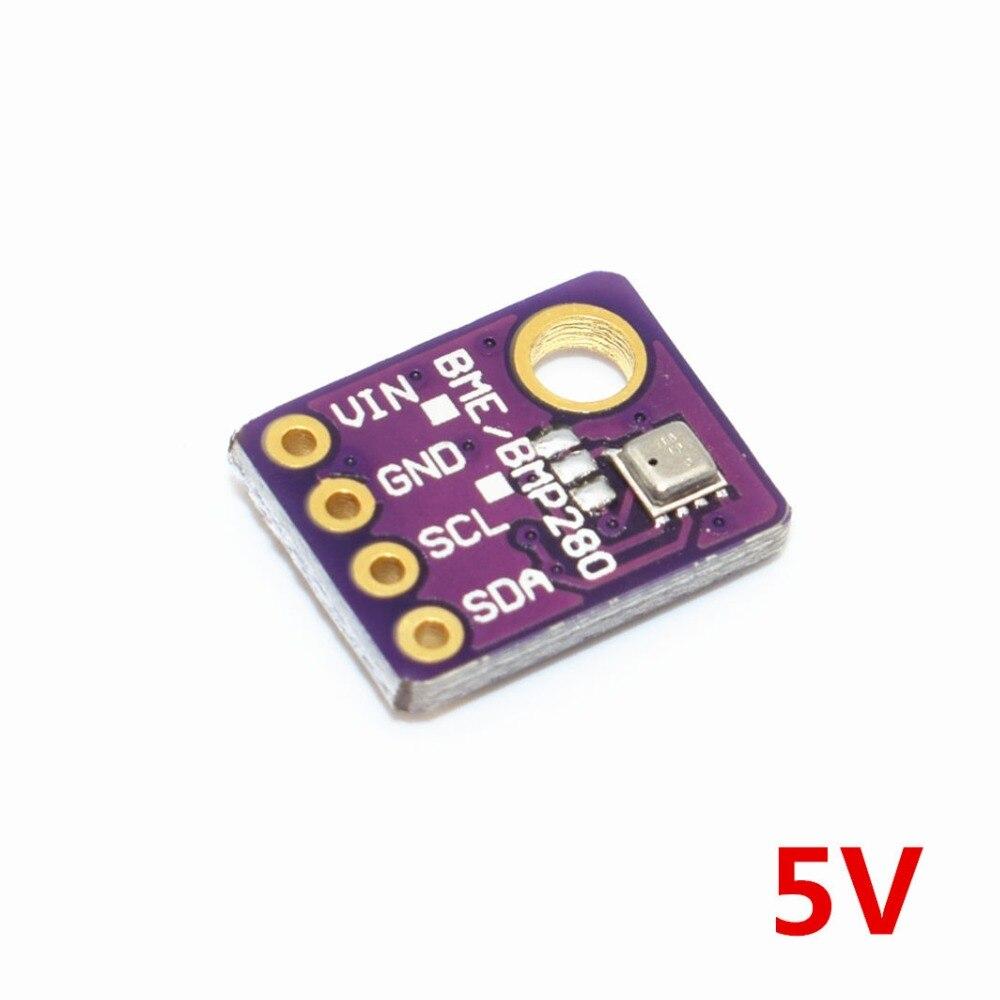BME280 цифровой датчик температуры Feuchtigkeit Luftdruck датчик модуль IEC SPI 1,8-5 в GY-BME280 5В