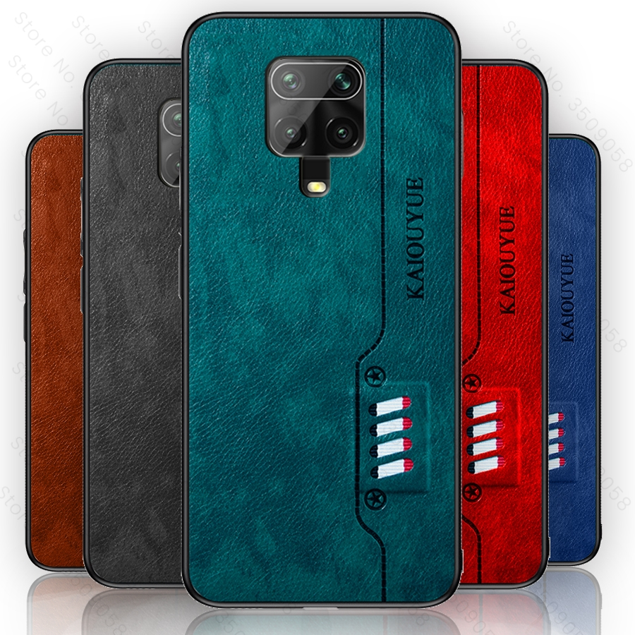 Redmi Note 9s Case Luxury PU Leather Silicone Soft Bumper Coque for Xiaomi Redmi Note 9 Pro Max Cases Cover Readmi Redmy Notes 9