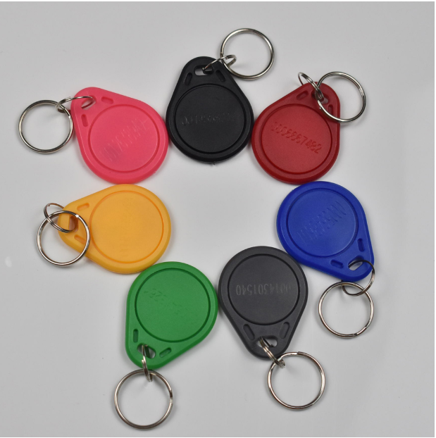 100pcs 125Khz RFID Proximity EM ID EM4100 TK4100 Card Token Tags Key Keyfobs For Access Control Time Attendance