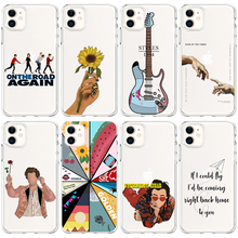 One Direction Harry Styles Louis Tomlinson Treat People With Kindness Case For iphone 6 6S 7 8 Plus X XR XS 11 12 mini Pro Max