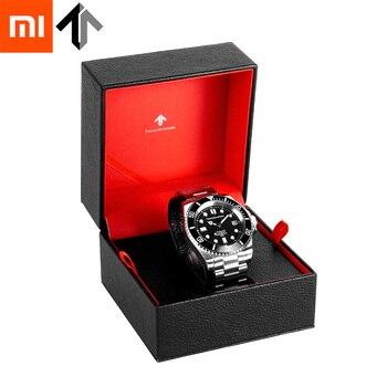 Xiaomi Mijia TwentySeventeen Mechanical Watch Deep Sea Series Imported Miyota Movement 100m Waterproof for Mans Gifts PU Box