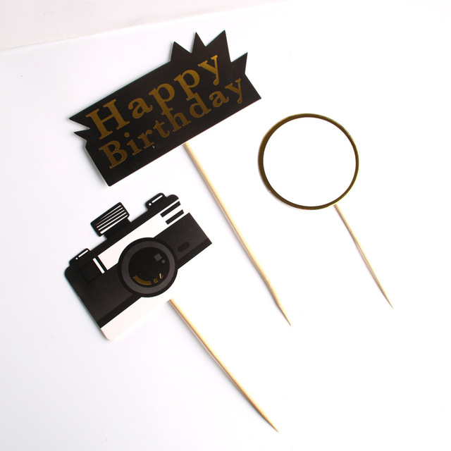 Prime Super Sale 0Eltf Cakelove 1Set Camera Happy Birthday Cake Funny Birthday Cards Online Barepcheapnameinfo