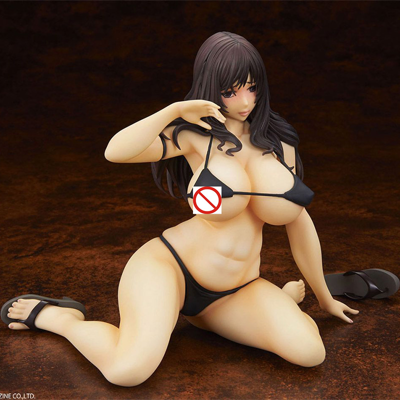 Q-Six Comic Hana-Man Cover Girl Anna Sexy Figure PVC Action Figure Anime Figure Model Toy Sexy Girl Figure Collectible Doll Gift