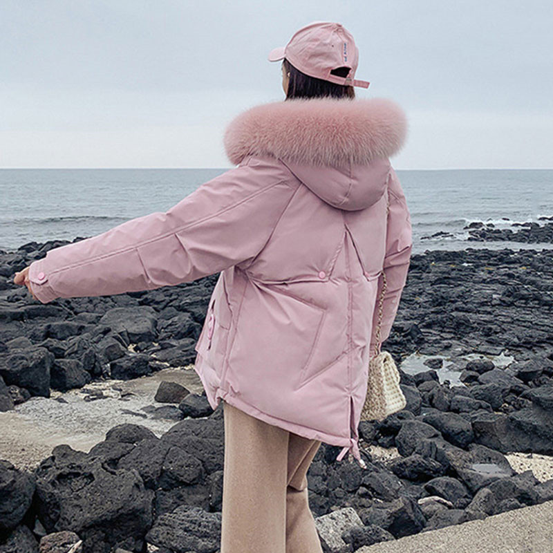 Winter Jacket Women 2019 Faux Fur Parkas Women Plus Size Womens Thicken Outerwear Hooded Coats Female Cotton Padded Clothing