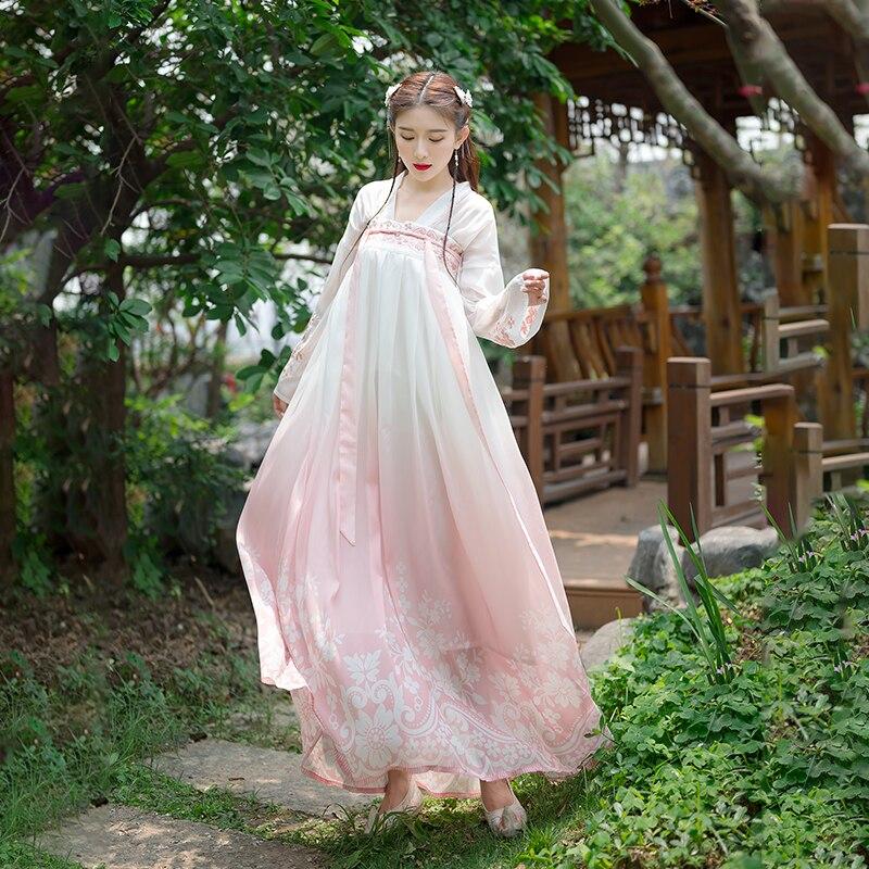 Купить женский комплект в китайском стиле простое винтажное платье