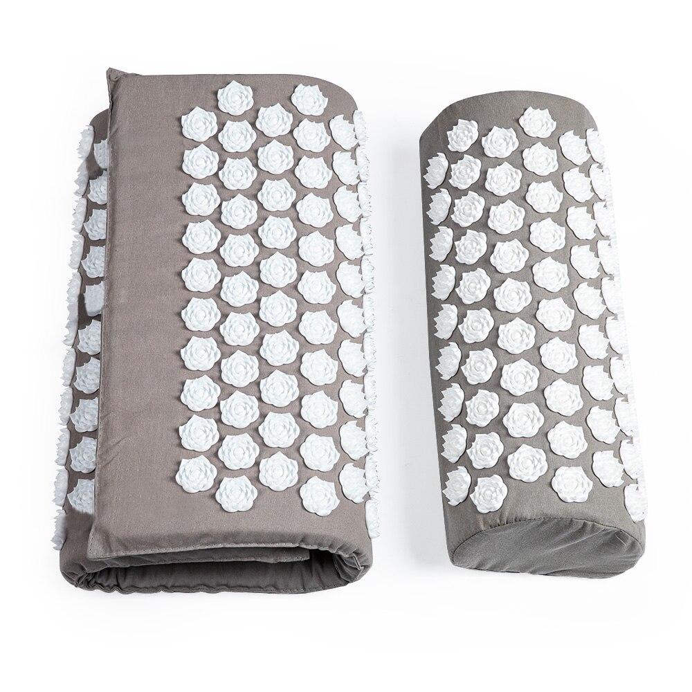 Acupressure Mat Massager Mat Relieve Stress Pain Mat Relief Stress Body Massage Pillow Cushion with bag