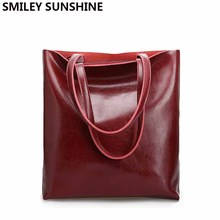 Bolsos de mano Vintage de piel auténtica para mujer, bolsas de mano grandes, de hombro, de oficina, de alta calidad, 2020