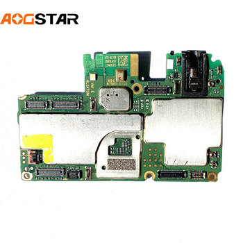 Aogstar Original Work Well Unlocked Motherboard Mainboard Main Circuits Flex Cable For Huawei Y6 2018 ATU-l21 ATU-al10