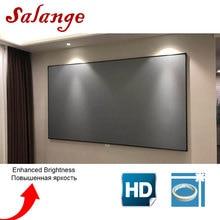 Salange проектор экран 100 120 дюймов проекционный экран для XGIMI H2 C80 YG300 YG400 UC40 UC46 светодиодный проектор JMGO DLP проектор