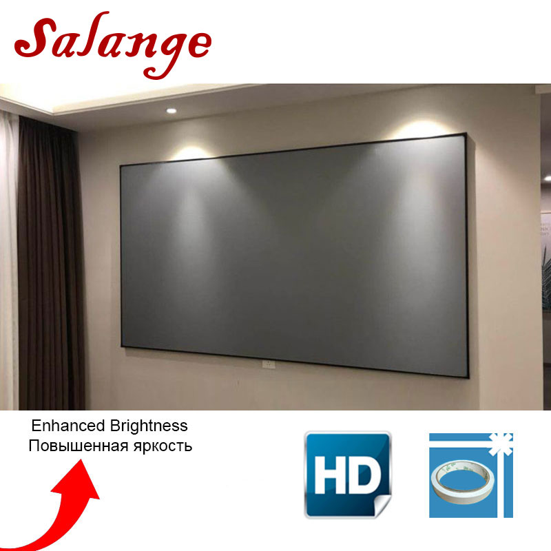 Salange Projector-Screen 100-120inch UC40 YG400 Uc46 Led Xgimi H2 JMGO for C80/Yg300/Yg400/Uc40 title=