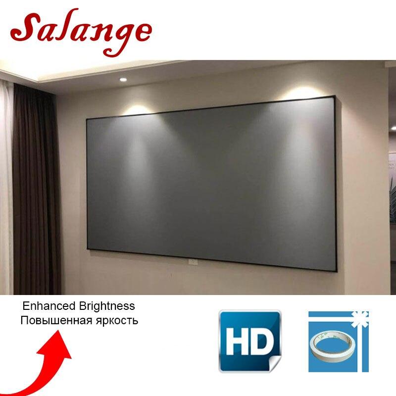 Tela de Projeção Tela De Projeção 100 120 polegada Para XGIMI Salange H2 C80 YG300 YG400 UC40 JMGO UC46 LEVOU Projetor DLP projetor