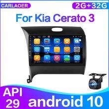 2din android 10 für Kia Cerato 3 yd 2013 2014 2015 2016 2017 auto Radio Multimedia Video Player Navigation Gps 2 din-player wifi
