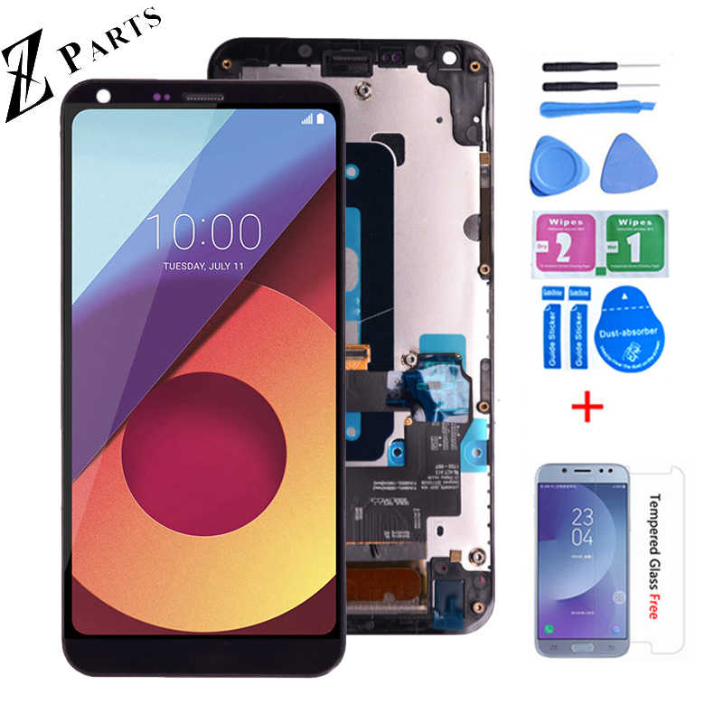 5.5 ''Originale Per lg Q6 lg-M700 M700 M700A US700 M700H M703 M700Y DIsplay LCD + Touch Screen digitizer Assembly Con La Struttura