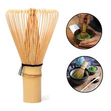 1 sztuk japońska ceremonia Bamboo 64 Matcha w proszku trzepaczka zielona herbata Chasen pędzle zestawy do herbaty zielona herbata mikser zestaw akcesoria tanie tanio Drewna 5x8 5cm