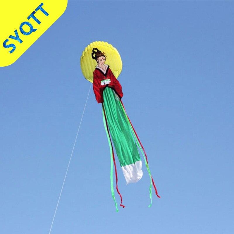 Livraison gratuite 8 m/6 m opéra chinois actrice cerf-volant doux cerf-volant opéra de pékin personnage mythique ligne unique cerf-volant pour éviter le déchirement