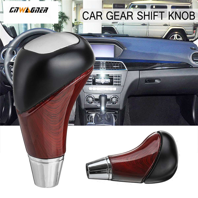 CNWAGNER Luxury Car Gear Shift Knob Head Auto Gear Knob Cover Shifter Lever Stick for <font><b>MERCEDES</b></font> for <font><b>Benz</b></font> W210 W220 W163 W202 <font><b>W140</b></font> image