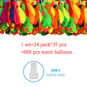 888 pcs Water Bombs Summer Party Balloons Toys for Kids Adults Outdoor Water Bomb Games