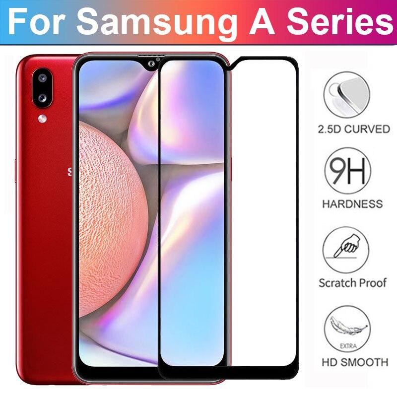Защитное стекло, закаленное стекло для Samsung Galaxy A51/A71/A50/A30/A20/A40/A70/A10/M30S