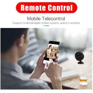 Image 2 - Мини камера 1080P с Wi Fi, HD видео в реальном времени, микро камера с секретным ночным видением, беспроводной IP пульт, маленькая Магнитная видеокамера, видеокамера, видеокамера Espia