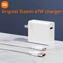 מקורי xiaomi 67w USB C כוח מתאם ניתוב בית תשלום מהיר טעינה נייד מחשב מטען נייד סוג c ממשק