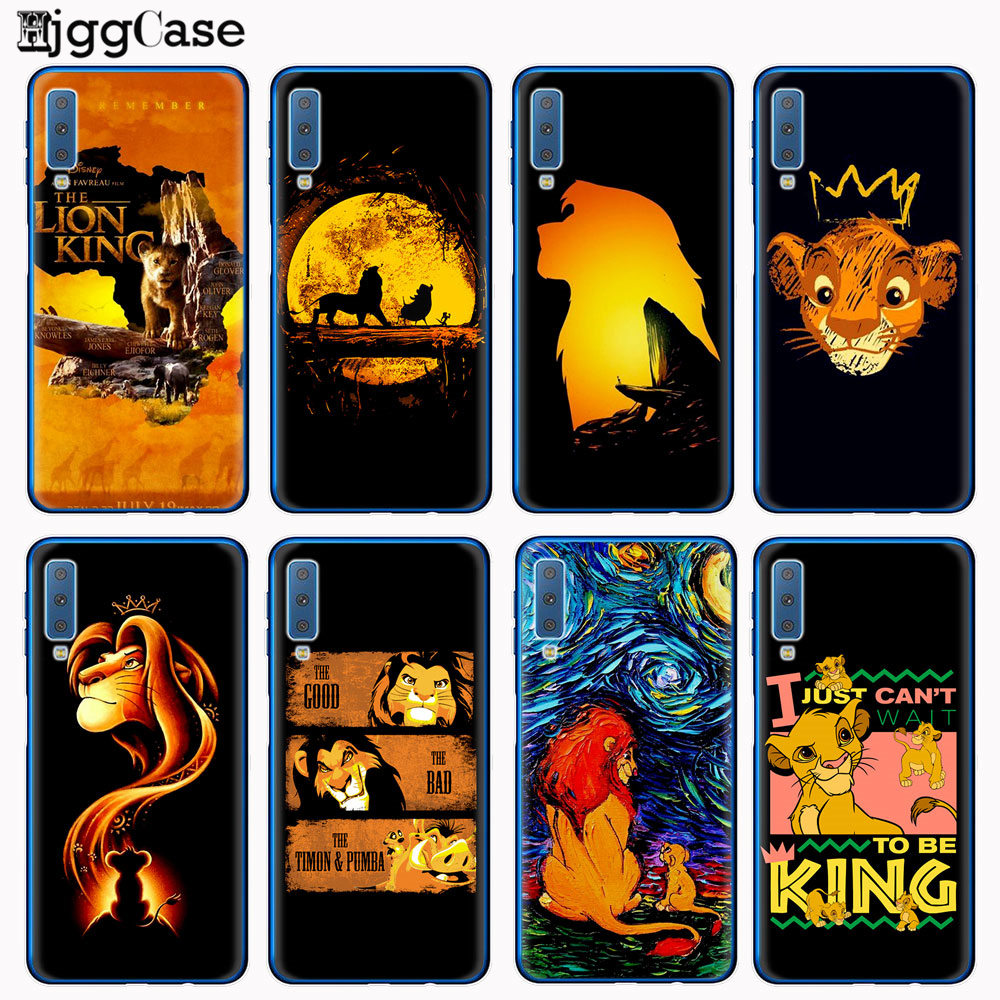 Movie Lion King 2019 nala simba timon Silicone Phone Case Cover For Samsung Galaxy A10 A30 A50 2019 A7 2018 A750 A6 A8 Plus 2018 image