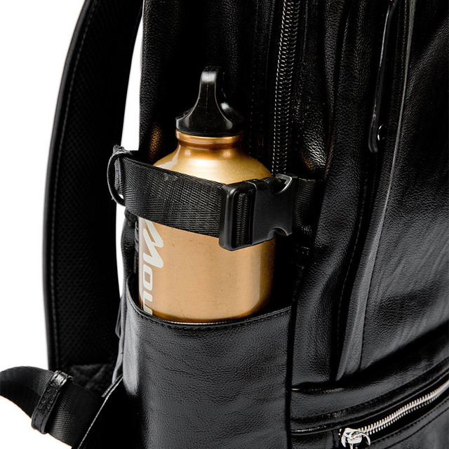 Leather Laptop Bags School Or Travel Backpack