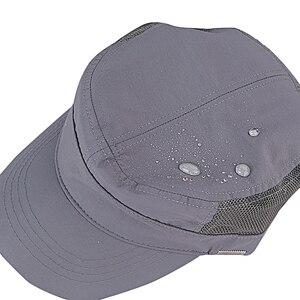 Image 3 - 겨울 큰 머리 남자 큰 크기 양 털 육군 플랫 모자 남자 여름 폴 리 에스테 르 플러스 크기 메쉬 군사 모자 55 60cm 60 65cm
