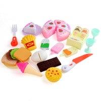 Los niños juegan a la casa juguete para torta de cumpleaños rebanadora de frutas Emulational 1