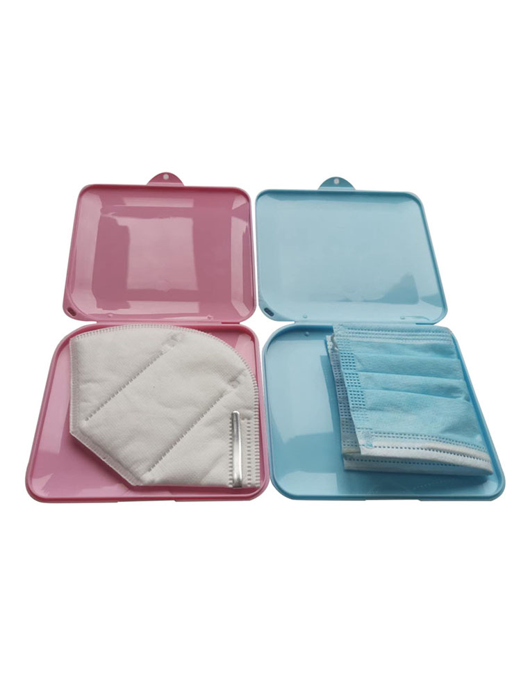 Household Moisture-Proof Dustproof Plastic Portable Temporary Organizer Holder Container for N95 Face Masks Storage Box Case(China)