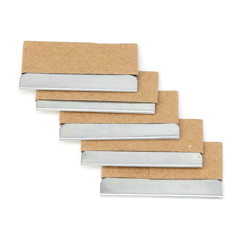 5/30 Pcs Stainless Steel Blades Ceramic Glass Tinting Scraper Remove Stickers V