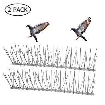Acier Inoxydable Plastique Oiseau Et Pigeon Pointes Anti Oiseau Anti Pigeon Pic Pour Se Débarrasser Des Pigeons Et Effrayer Les Oiseaux Lutte Antiparasitaire