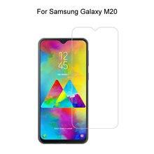 Для samsung galaxy m20 026 мм 25d Премиум Закаленное стекло
