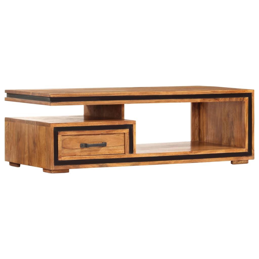 VidaXL Coffee Table 100x45x33 Cm Solid Acacia Wood