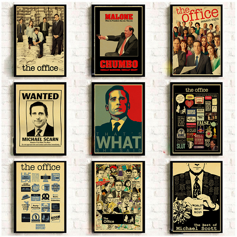 Posters Kraft Paper Prints