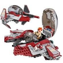 Legoing Star Wars Series Obi-Wans Jedi Interceptor Movie Revenge of The Sith Building Blocks Toys  Starwars Sets