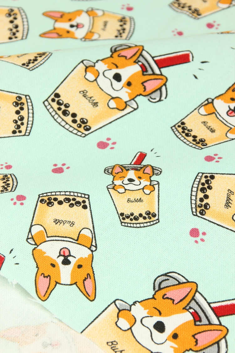 Thick Cotton Fabric 009