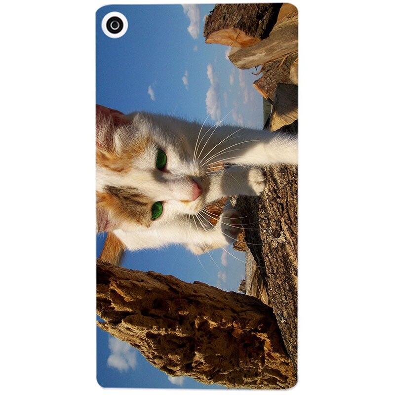 Cartoon Tab Case For Samsung Galaxy Tab A 8.0 SM T290 T295 T297 2019 Tab A 8 Cover Flower Cat Soft Silicone TPU Coque