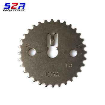 S2R Motorcycle Time Chain Sprocket Cam Chain for Honda CB125 ACE CB CG XL 125 KYY CB125F CB125R 32T Engine Timing Gear Parts image