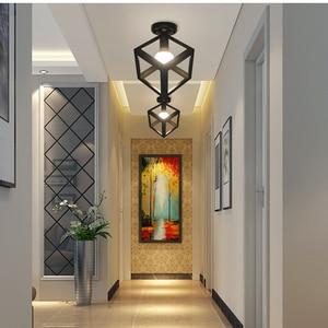 Image 3 - Ceiling light Modern ceiling lamp Metal loft decor lamp Industrial style home lighting bedroom Kitchen livingroom light fixtures
