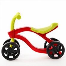 4 колеса детский пуш-ап самокат баланс детский велосипед, детский велосипед, игрушки для младенцев, детский велосипед для детей Поездка на свежем воздухе игрушки автомобилей износостойкие