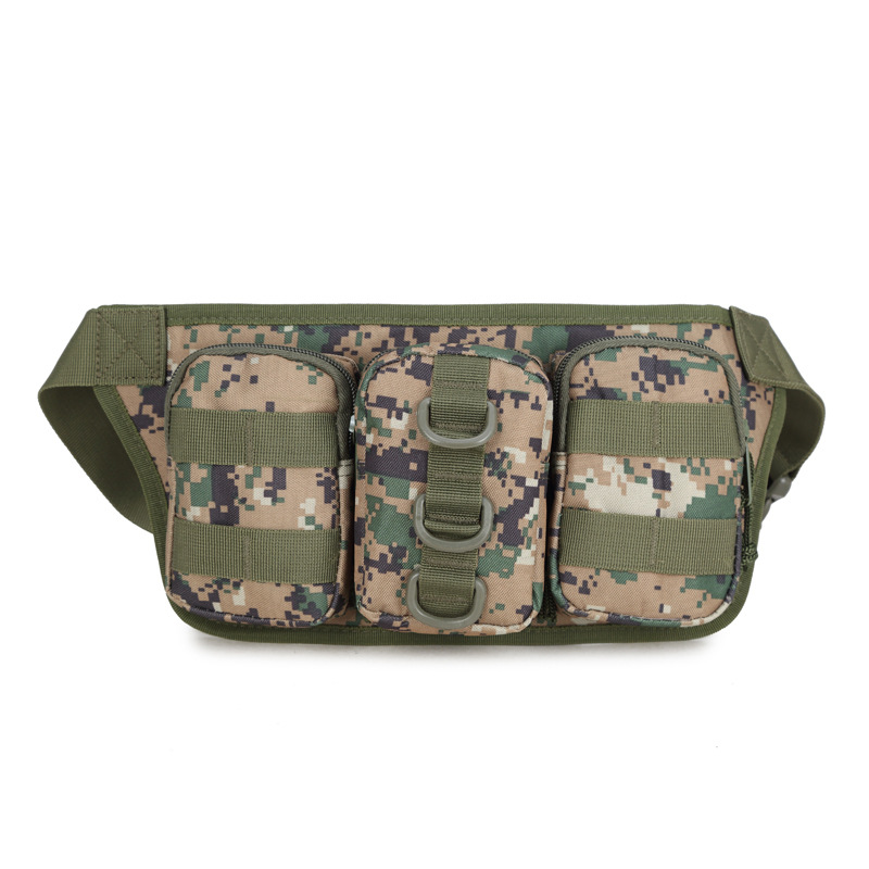 Camping Riding Army Fans Sports Outdoor Fashion Multi-functional Triple Wallet Carry-on Carriable Shui Hu Bao Army Fans