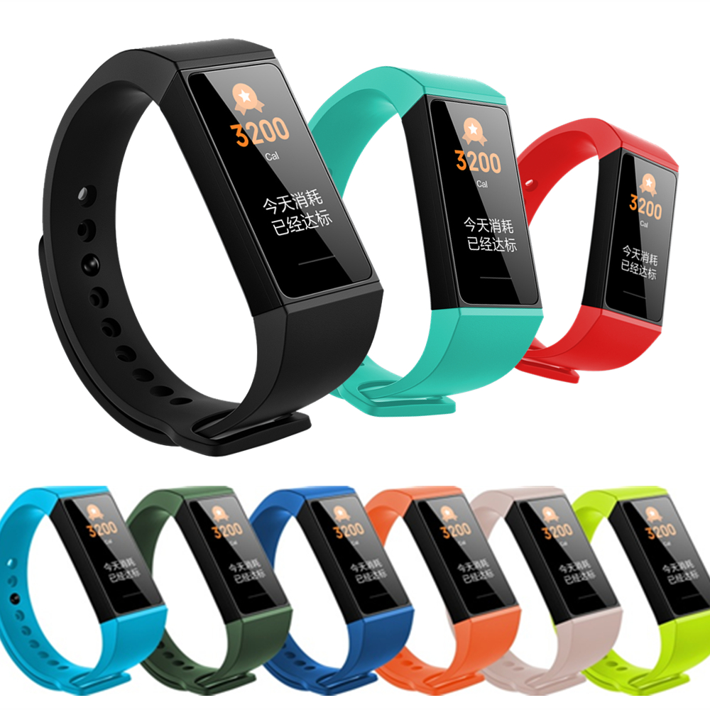 Sport Wrist Bands For Redmi Smart Bracelet Silicone Strap For Xiaomi Redmi Band Strap For Mi Redmi Band 4 Replacement Watchband