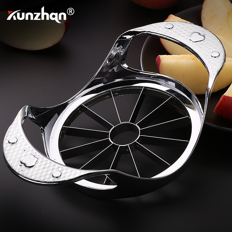 Stainless Steel Apple Cutter Flower Type Apple Knife Fruit Cutter Vegetable Fruit Easy Cut Slicer Cutter Kitchen Tools