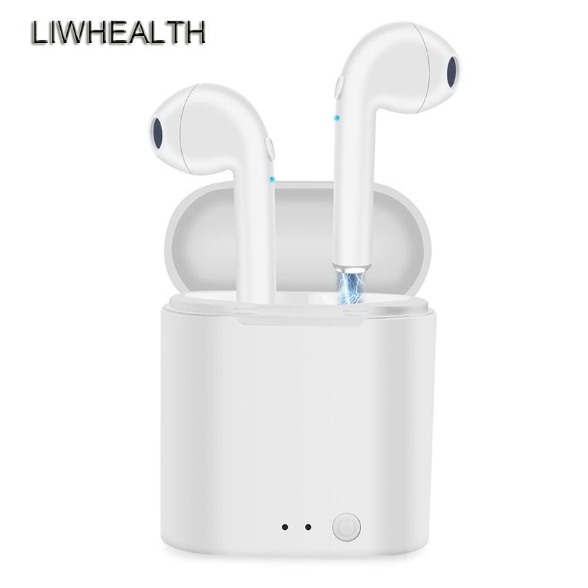 I7S TWS Mini Wireless Bluetooth Earphones Stereo Earpieces Ear Phone Fone Bluetooth Earbuds For Iphone/Xiaomi/Sony PK I10/I12