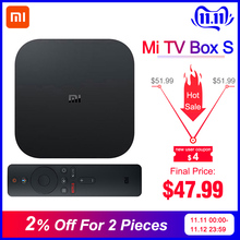 Xiaomi Iptv-Set Top-Mi-Box Cast Netflix 4-Media-Player WIFI Android Tv Global Google
