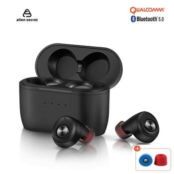 New Alien Secret Tws Bluetooth Earphone Wireless Headphones Earbuds bluetooth APTX TWS+
