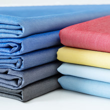 Jean coton Demin Tissu pour coudre des pantalons vestes robe douce soie toucher à la main après jean lavé Tissu Textiles Telas Tissu