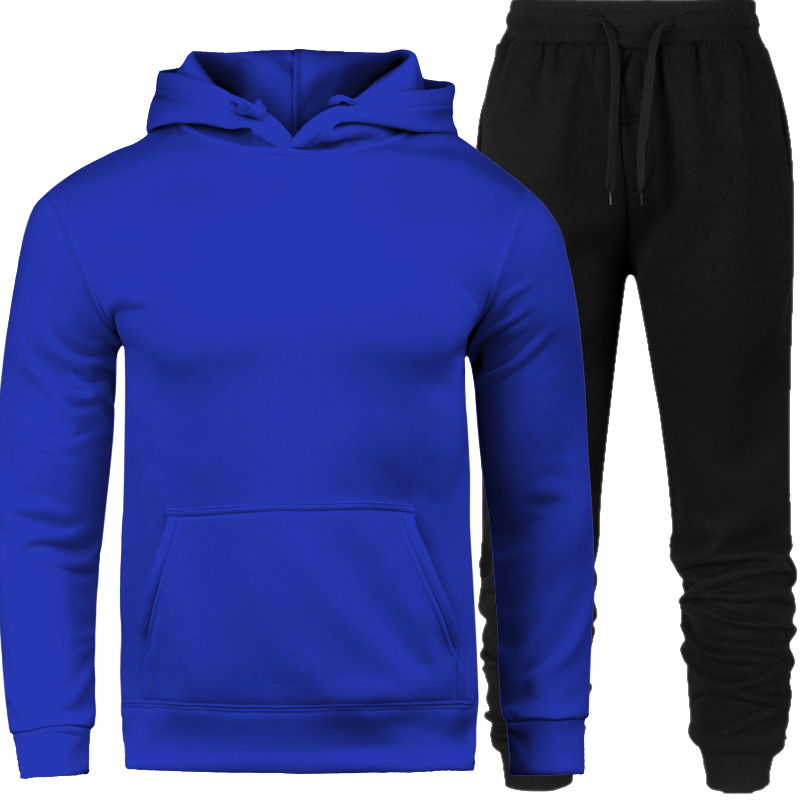 Men's Sweat Suits Set Letter Print Large Size Sweatsuit Male 3XL Sets 2019 Brand Sporting Suit Men Warm Hooded Tracksuit Track